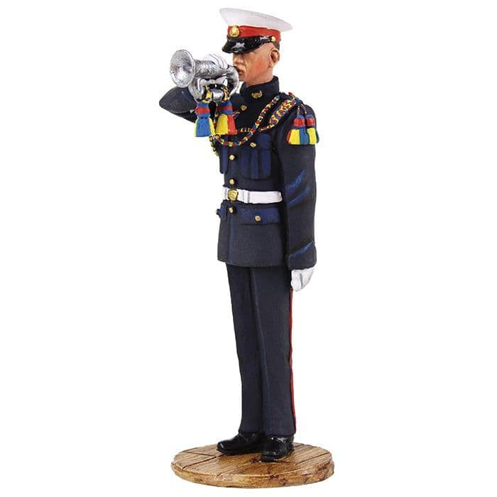 WB13013 British Royal Marine Bugler 1959