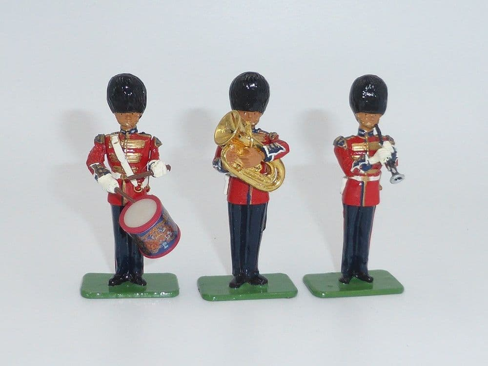WB40202 Scots Guards Band Side Drum, Clarinet, French Horn