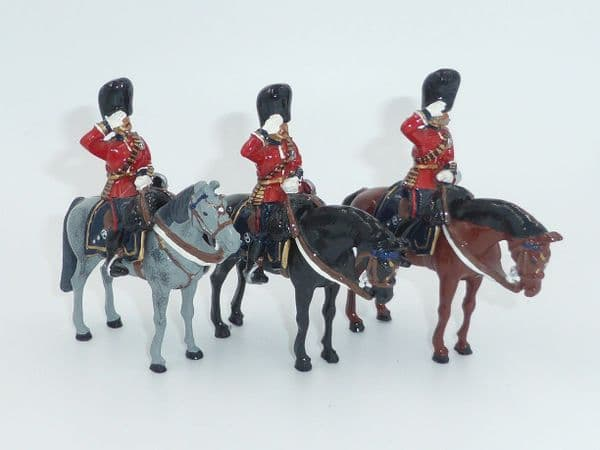 WB40208 Senior Officers of the Scots Guards