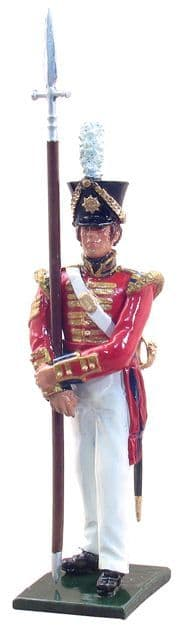 WB44018 Sergeant-2nd (Coldstream) Foot Guards 1822- 1 Piece Set in Window Box