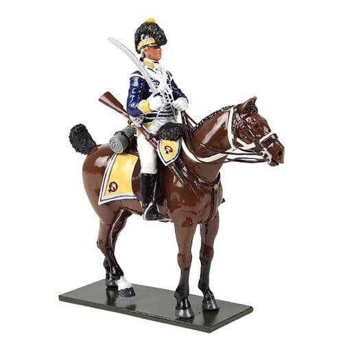 WB47058 British 10th Light Dragoon's Trooper Mounted No 1, 1795