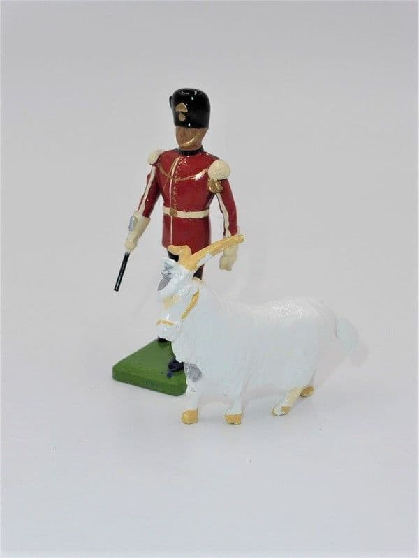 WB5191 Mascot & Handler - The Royal Welch Fusiliers