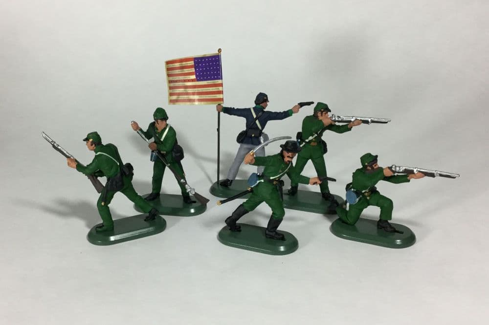 WB52015 William Britain American Civil War Burdens Sharpshooters
