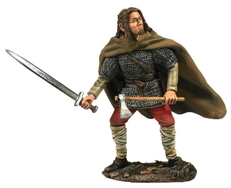 WB62133 Viking Attacking with Sword & Axe (Brandr)