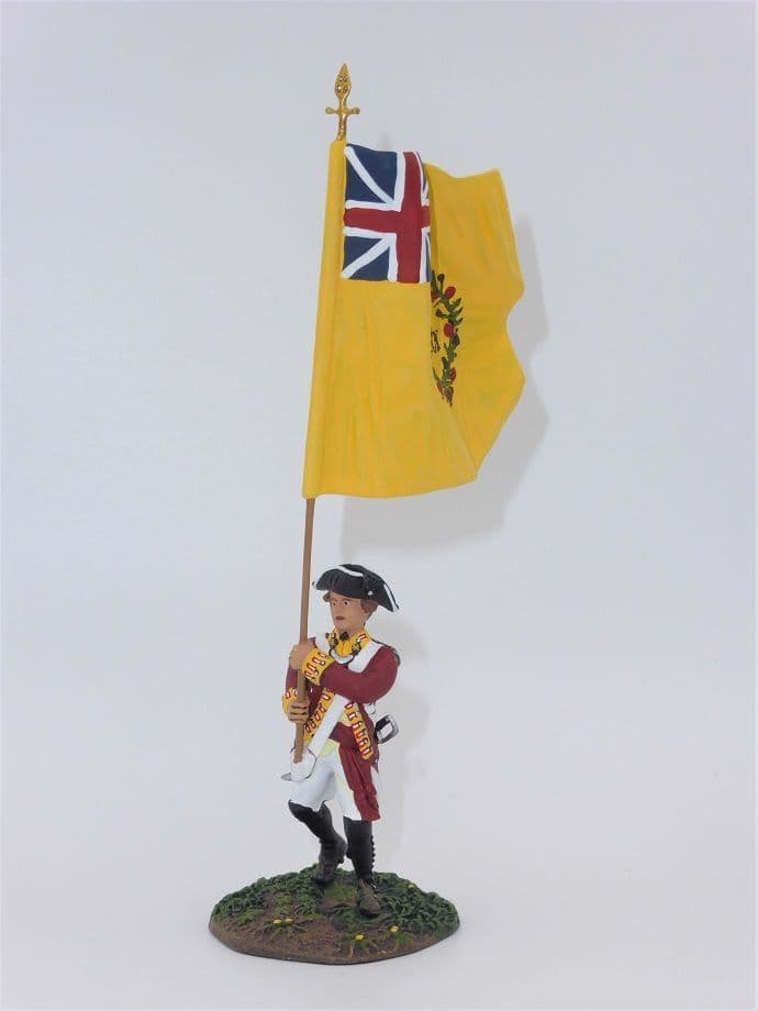 William Britain American revolution Flag Bearer R