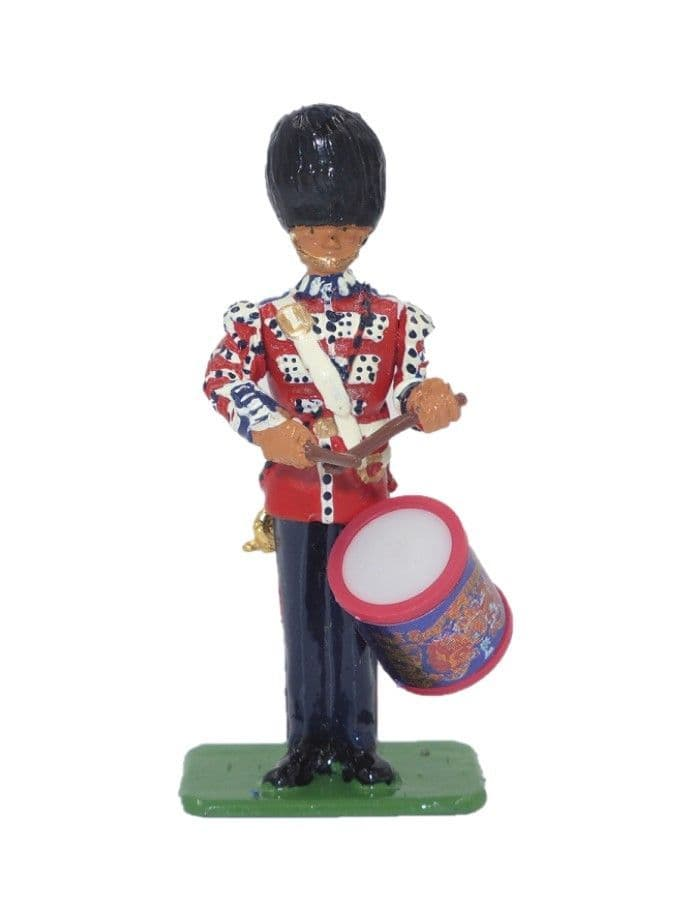 William Britain Bass Drummer Scots Guards
