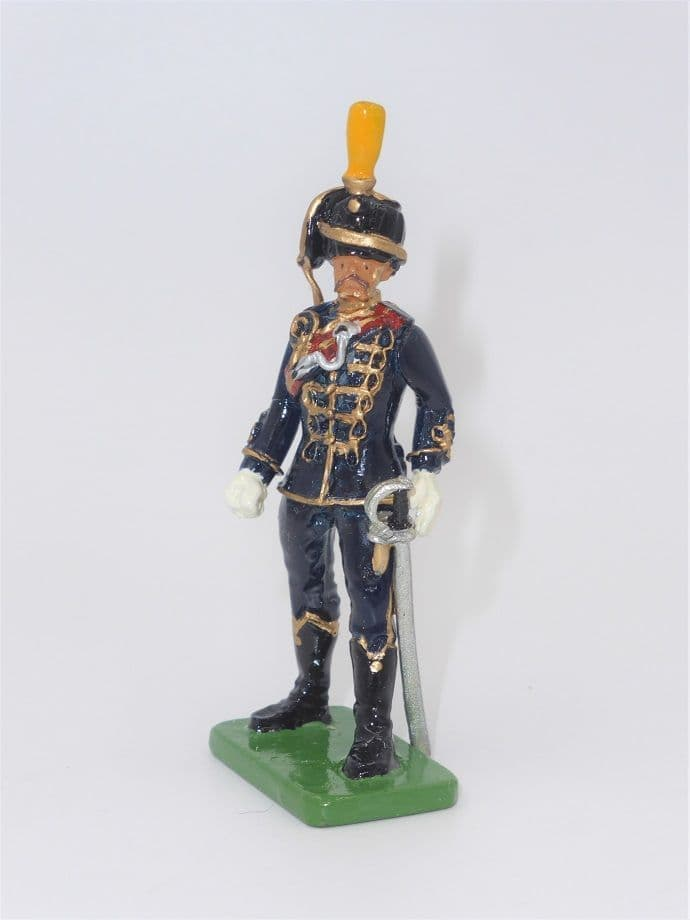 William Britain Foot  Hussar Figure J