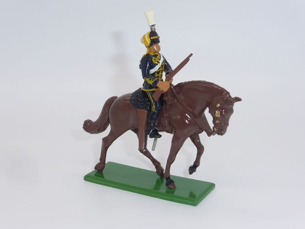 William Britain Mounted Hussar Figure D