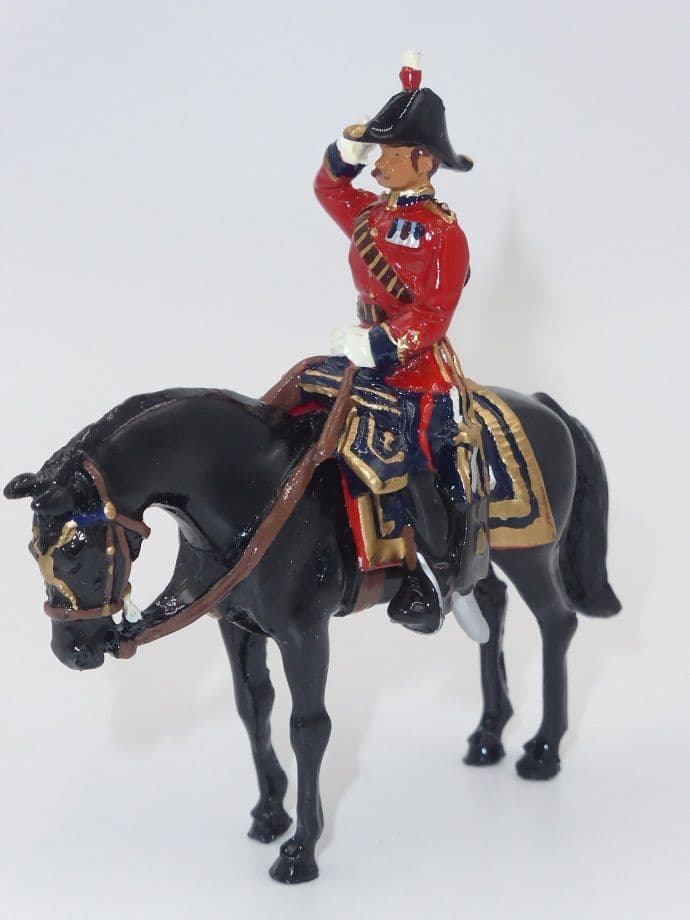 William Britain Mounted Scots Guards Officer of the General Staff 1