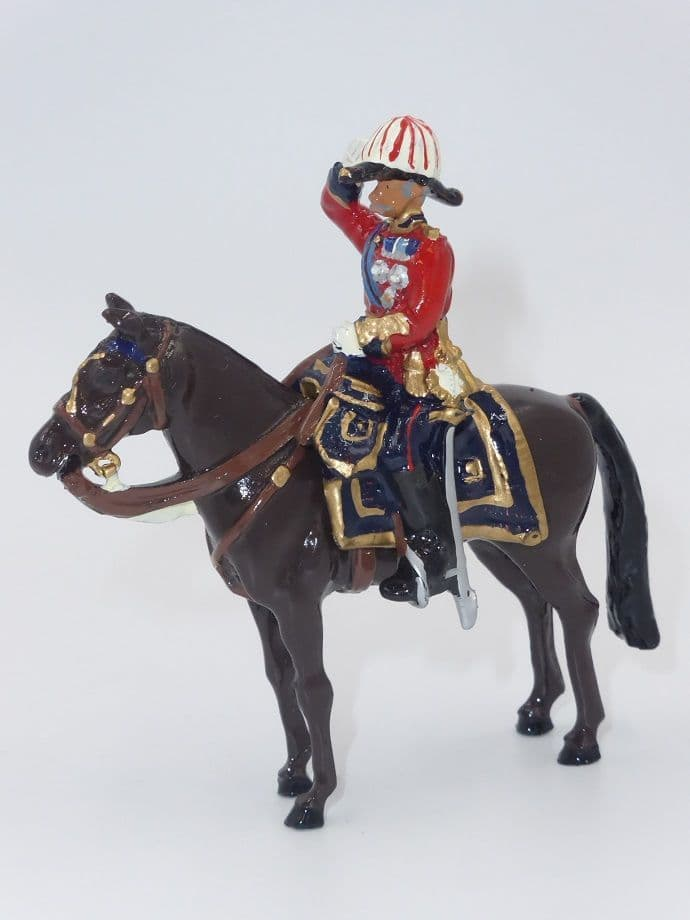William Britain Mounted Scots Guards Officer of the General Staff 2