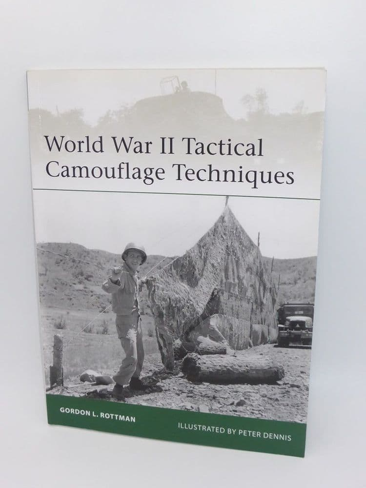 World War II Tactical Camouflage Techniques