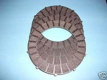 CLUTCH FRICTION PLATE X 4  TRIUMPH  BSA  TWINS