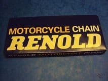 GENUINE RENOLD MOTORCYCLE REAR CHAIN 100 LINKS 5/8X3/8