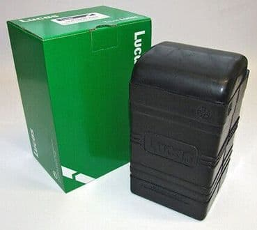 LUCAS RUBBER BATTERY BOX B49-6 SMALL TYPE  BRITISH BIKES 1930S TO 1960S