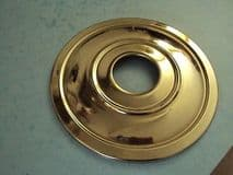 """TRIUMPH FRONT HUB COVER 37-1334 STAINLESS 7"""" BRAKE 3TA 5TA TIGER100 6T"""