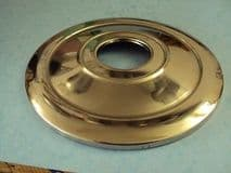 """TRIUMPH FRONT HUB COVER STAINLESS   8"""" BRAKE T100 T120"""