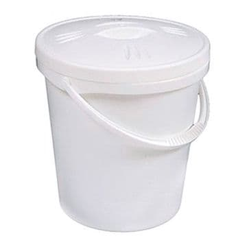 Nappy bucket with lid