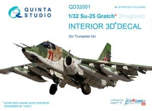 Su-25 Frogfoot 1/32nd scale
