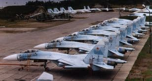 Su-27 Complete Technical Stencil Data (From VVS Manuals) for 1 a/c
