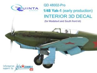 Yak-1 (early production) 1/48th