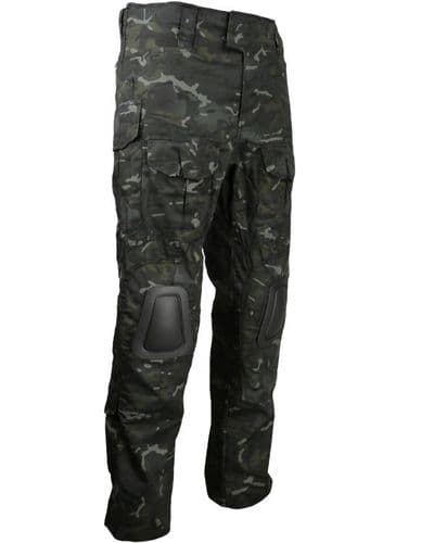 British Terrain Pattern Black - Special Ops Trousers