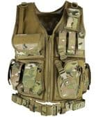 British Terrain Pattern Cross Draw Tactical Vest