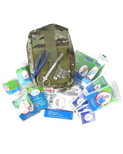 British Terrain Pattern Deluxe First Aid Kit