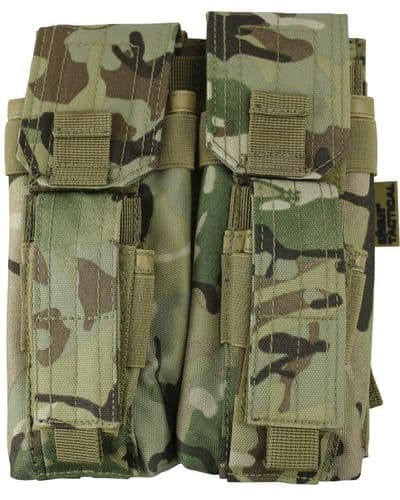 British Terrain Pattern Double Mag Pouch With Pistol Mag Pouch