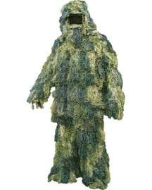 Ghillie Suit Adult Woodland