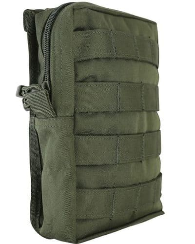 Large Molle Utility Pouch - Green