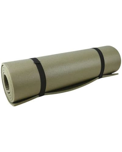 Military Style Roll Mat Olive Green