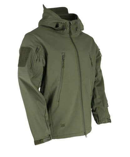 Patriot Tactical Soft Shell Jacket Olive Green