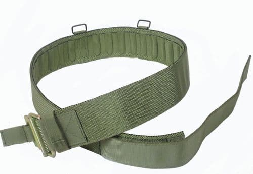 PLCE Webbing Belt With Roll Pin Buckle - Light Olive
