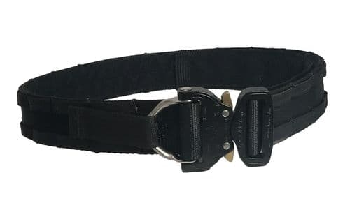 Police Issue Black Cobra D-Ring MOLLE O'C Shooters Belt
