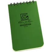 "Rite In The Rain Tactical Note Pad Green - 3"" X 5"""