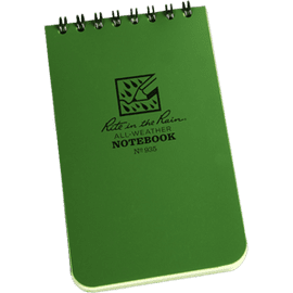 Rite In The Rain Tactical Note Pad Green - 3