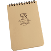 "Rite In The Rain Tactical Note Pad - Tan 4"" X 6"""