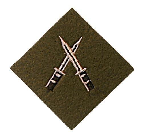 Section Commanders Battle Course Trade Badge