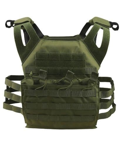 Special Ops Jump Plate Carrier Green