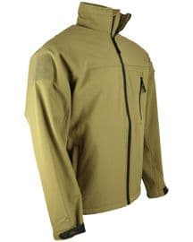 Trooper Soft Shell Jacket - Coyote