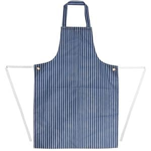 Apron Waterproof Blue Stripe