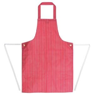 Apron Waterproof Red Stripe