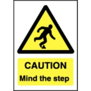 Caution Mind The Step Sign