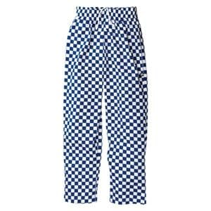 Chefs Trousers Large Blue Check.
