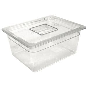 Clear Polycarbonate Gastronorm Container 1/3 Size 100mm deep