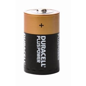 D Duracell Batteries (2 Pack)