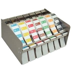 Day of the Week Label Dispenser and Full Set of Labels