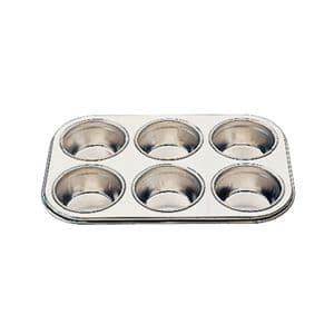 Deep Muffin Tray 6 Cup