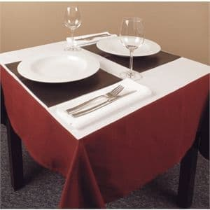 Disposable Paper Table Covers White