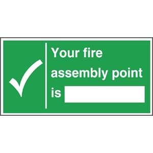 Fire Assembly Point Sign (2)